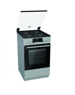 Gorenje Cooker K5341SJ Hob type Gas, Oven type Electric, Inox, Width 50 cm, Electronic ignition, Grilling, LED, 62 L, Depth 60 c