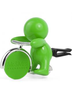 Mr&Mrs GINO Car air freshener JGINO006SU Scent for Car, Citrus, Green