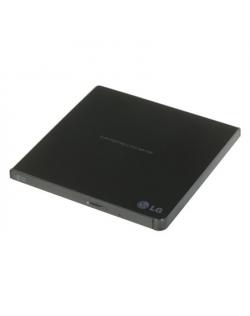 H.L Data Storage Ultra Slim Portable DVD-Writer GP57EB40 Interface USB 2.0, DVD±R/RW, CD read speed 24 x, CD write speed 24 x, B