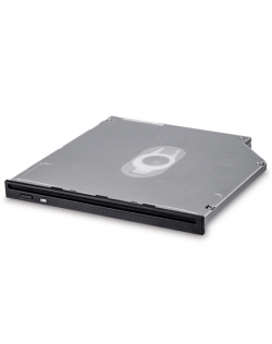 H.L Data Storage 9.5mm Slot loading Slim Internal DVD-W GS40N Internal, Interface SATA, DVD±RW, CD read speed 24 x, CD write spe