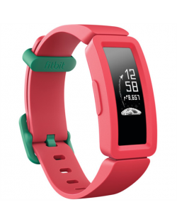Fitbit Ace 2 Fitness tracker, OLED, Touchscreen, Waterproof, Bluetooth, Watermelon / Teal