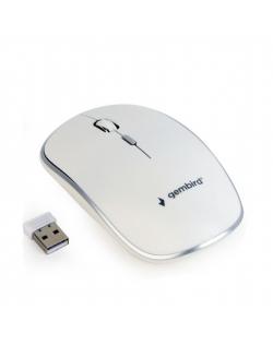Gembird MUSW-4B-01-W Standard, No, White, No, Wireless connection