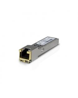 Ubiquiti UF-RJ45-1G SFP, Copper, RJ-45, 10/100/1000 Mbit/s, Maximum transfer distance 100 m, 0 to +70C