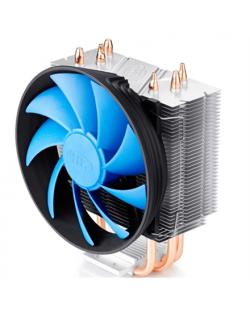 """deepcool Deepcool """"Gammaxx 300"""" cooler, 3 heatpipes, Intel Socket LGA1366 /115x/ 775, 125 W TDP and AMD Socket FMx+/AMx+/940/939"""