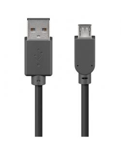 Goobay 93920 USB 2.0 Hi-Speed cable 3 m, Black