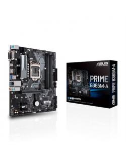 Asus PRIME B365M-A Processor family Intel, Processor socket LGA1151, DDR4 DIMM, Memory slots 4, Chipset Intel B, Micro ATX