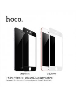 Hoco Kasa series tempered glass for iPhone 6 Plus/6S Plus (V9) Black