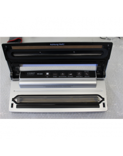 SALE OUT. Caso Bar Vacuum sealer VC 320 Pro Power 120 W, Temperature control, Silver, DEMO, USED, SCRATCHED, MISSING INNER PACKA
